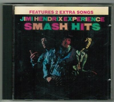 JIMI HENDRIX EXPERIENCE SMASH HITS Features 2 Extra Songs Early Release ()