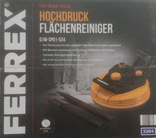 FERREX / Duro Flächenreiniger, Terrassenreiniger, inkl. Adapter & Verlängerungen