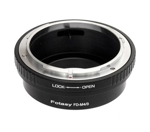 Canon FD Lens to Micro 4/3 M43 Adapter Panasonic GH3 GH4 GH5 GH5s GF6 GF7 GF8
