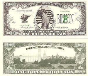 STATUE-OF-LIBERTY-ONE-BILLION-DOLLAR-BILL-PLAY-MONEY-GREAT-NOVELTY-FOR-JOKES