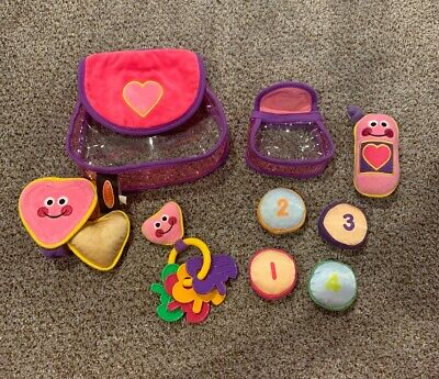 Spill Plush Baby Toy - Melissa & Doug Pretty Purse Fill and Spill Soft Play Set