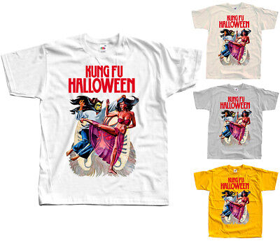 ovie poster, 1977 T SHIRT WHITE NATURAL ZINK all sizes S-5XL (Kung-fu-halloween)