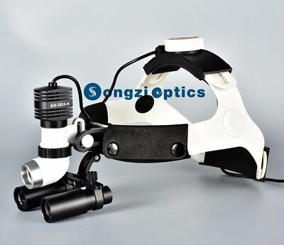 Songzi Optics High Brightness 5w Dental Surgical Headlight 5x Surgical Loupes