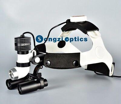 Songzi Optics High Brightness 5w Dental Surgical Headlight 5x Surgical Loupes