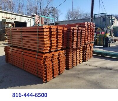 Pallet Rack Racking Shelving Racks Warehouse Teardrop Used Beams 102 Rails