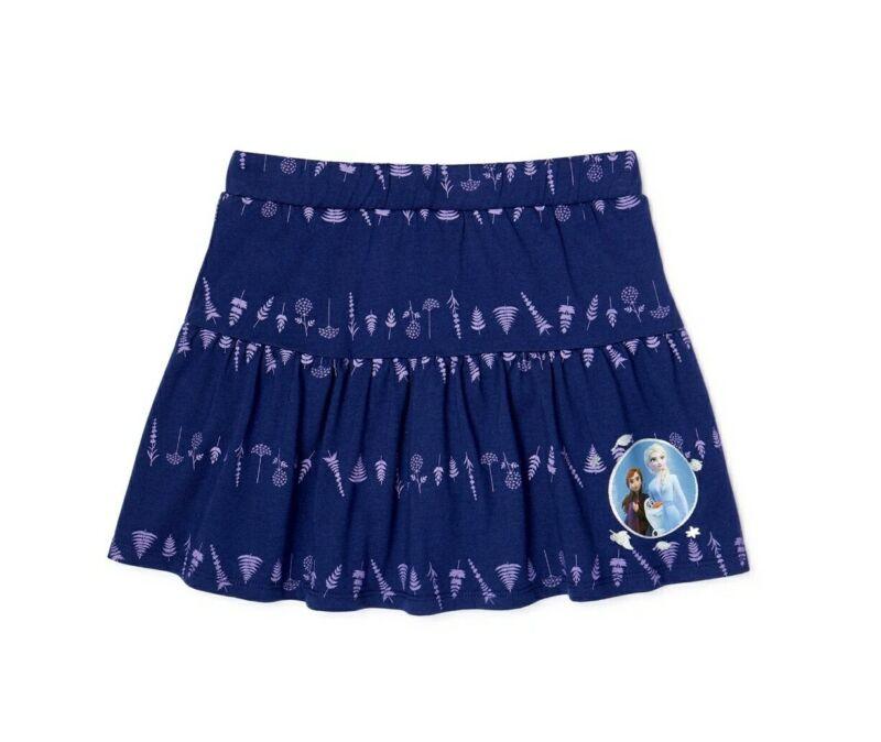 Frozen 2 Girls Knit Scooter Skirt Size M (7-8)
