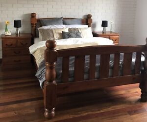 Queen bed frame with pillow top mattress Sunnybank Hills Brisbane South West Preview
