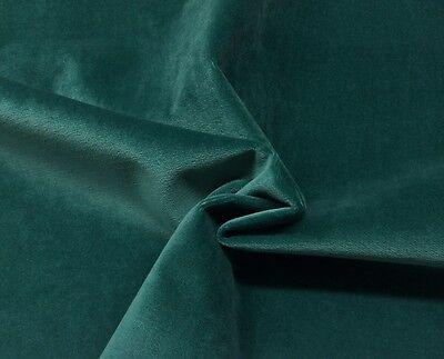 Ballard Designs Soho Velvet Peacock Blue Upholstery Cushion Fabric By Yard 54 W