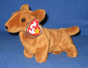 da9af38af7d TY WEENIE the DACHSCHUND BEANIE BABY - MINT with MINT TAG