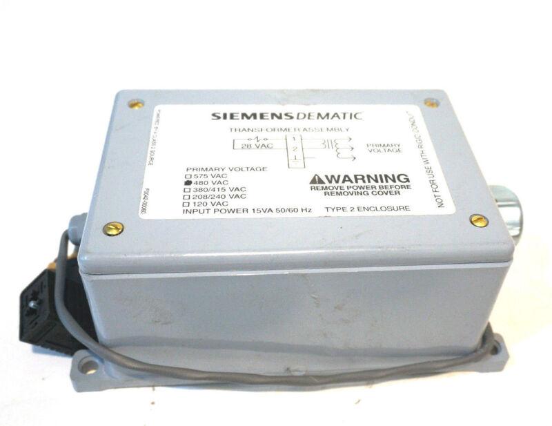 NEW SIEMENS DEMATIC F0042-00050AC TRANSFORMER ASSEMBLY TYPE 2 480VAC
