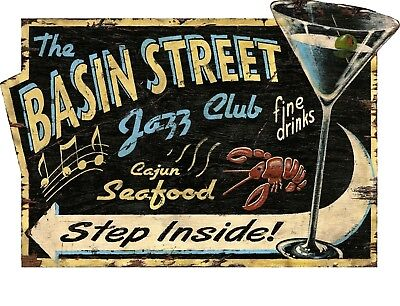 New Orleans Decor (TIN SIGN