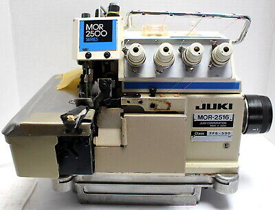 Juki Mor-2516 Serger Top Feed 2-needle 5-thread Industrial Sewing Machine Head