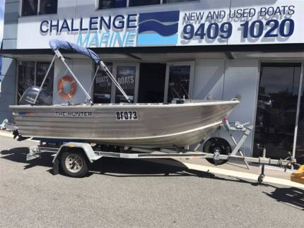QUINTREX 440 DINGHY WITH 50 HP 2016 YAMAHA 4 STROKE
