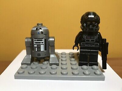LEGO Star Wars Minifigures- Imperial V-wing Pilot & Droid from Set 7915