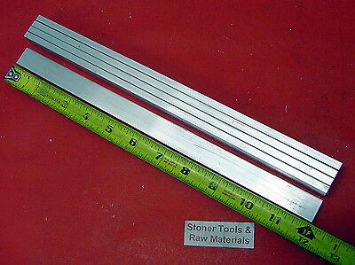 5 Pieces 14 X 34 Aluminum 6061 Flat Bar 12 Long Solid .250 T6511 Mill Stock