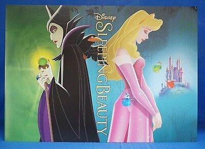 Sleeping Beauty 4 pc Lithograph Set & Folder Disney Store Authentic 10
