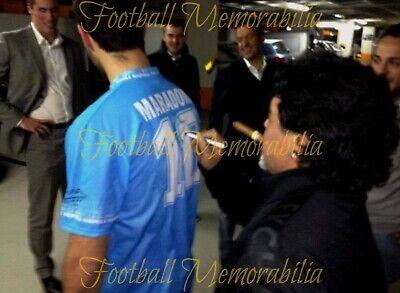 Diego Armando Maradona Signed - Napoli