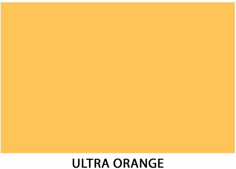 """11 x 17"""" Ultra Orange Colored Card Stock Paper - 65lb Cover - 50 Sheets"""