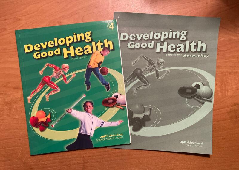 Abeka Developing Good Health And Answer Key (grade 5)