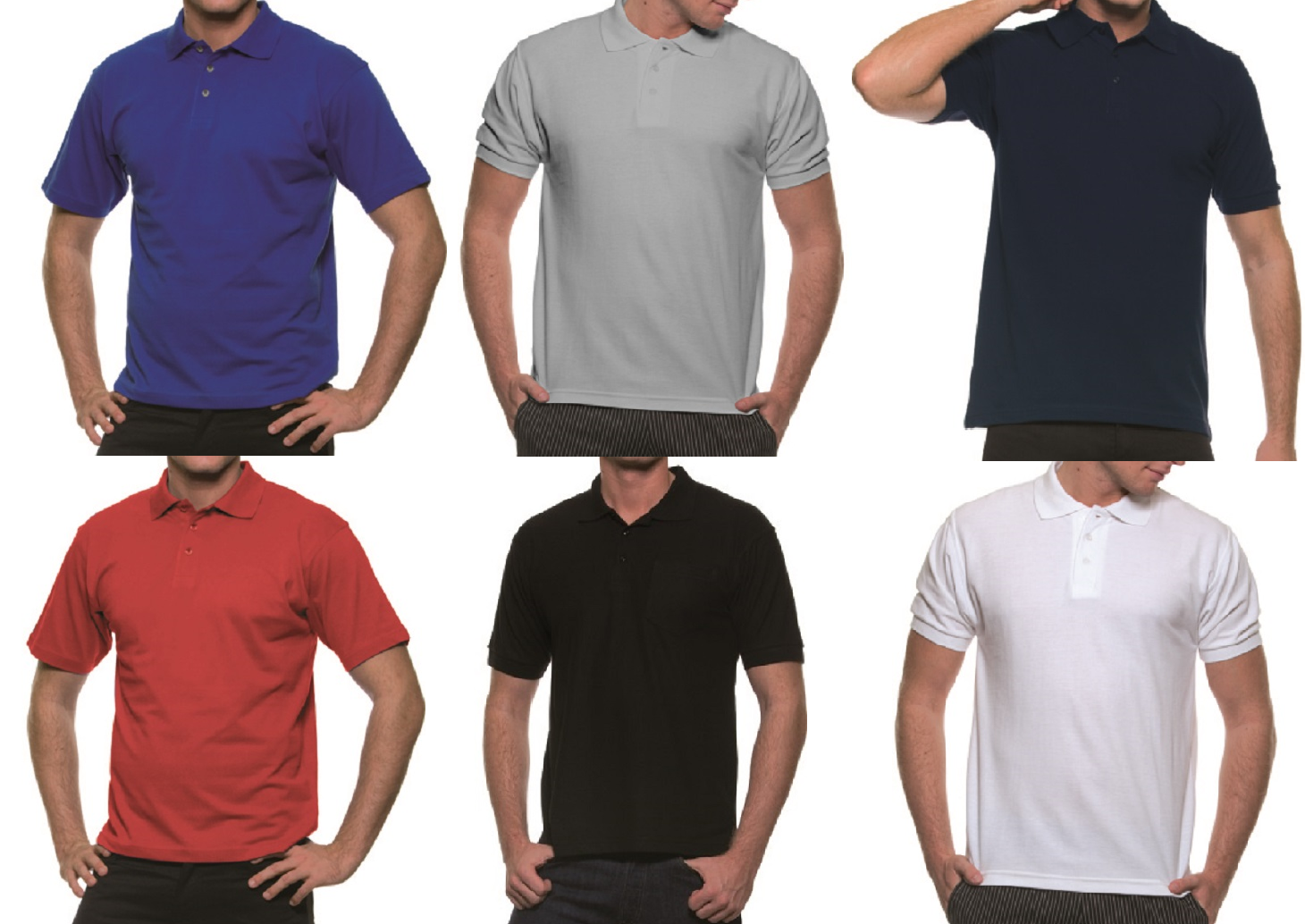 4487de6247d636 Karlowsky Basic Herren Poloshirt Polohemd 6 verschiedene Farben  Dauertiefpreis