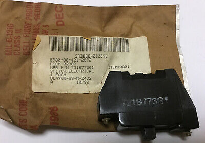 Ge Master Switch Contact Block 721b773g1 Nos