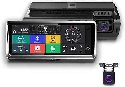 Rexing 4G Satellite Dash Cam S800, Full HD Dual Channel, Android OS, Car GPS