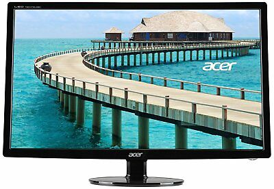 "Acer S241HL bmid 24"" LED LCD Monitor (ACER UM.FS1AA.001) NEW"