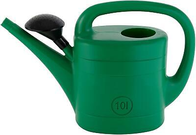 14 Litre Ward Green Plastic Garden Watering Can Water Sprinkler Large capacity