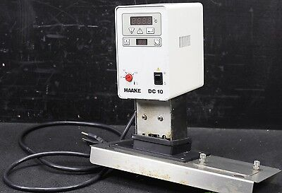 Haake Dc 10 Water Bath Controller Refrigerated Heater Heated Recirculator