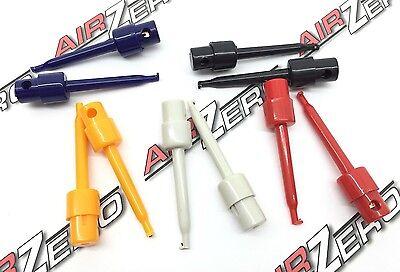10 Multimeter Hook Lead Wire Kit Test Hook Clip Grabber Test Probe Smtsmd 8.1