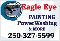 Eagle eye painting and more