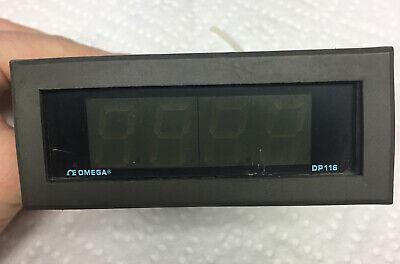 Omega Dp116-kc1 Digital Temperature Panel Meter Unit 115vac 2w