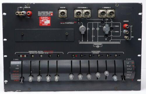 GR General Radio IET Labs Type 1615-A Capacitance Bridge 1615A