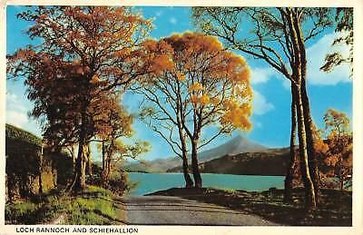 uk34569 loch rannoch and schiehallion scotland uk