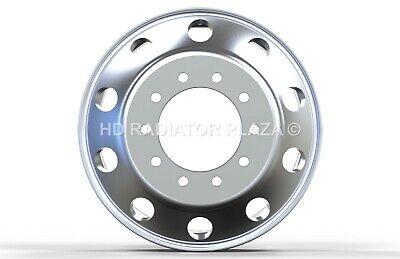 22.5 x 8.25 Aluminum HD Truck Trailer Wheel Rims Hub Alcoa Style Dually 10 Lug