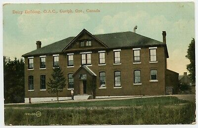 Dairy Building O.A.C. Guelph ON Canada Vintage Postcard 1911 ()