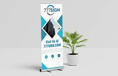 Trade Show Double Foot Aluminum 33x81 Retractable Banner Stand Hardware Only
