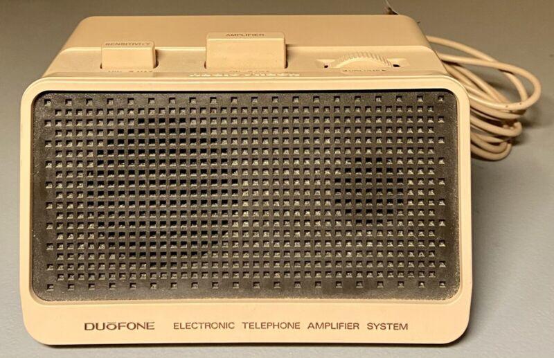 Vintage Radio Shack DUOPHONE Electronic Telephone Amplifier System Model 43-275