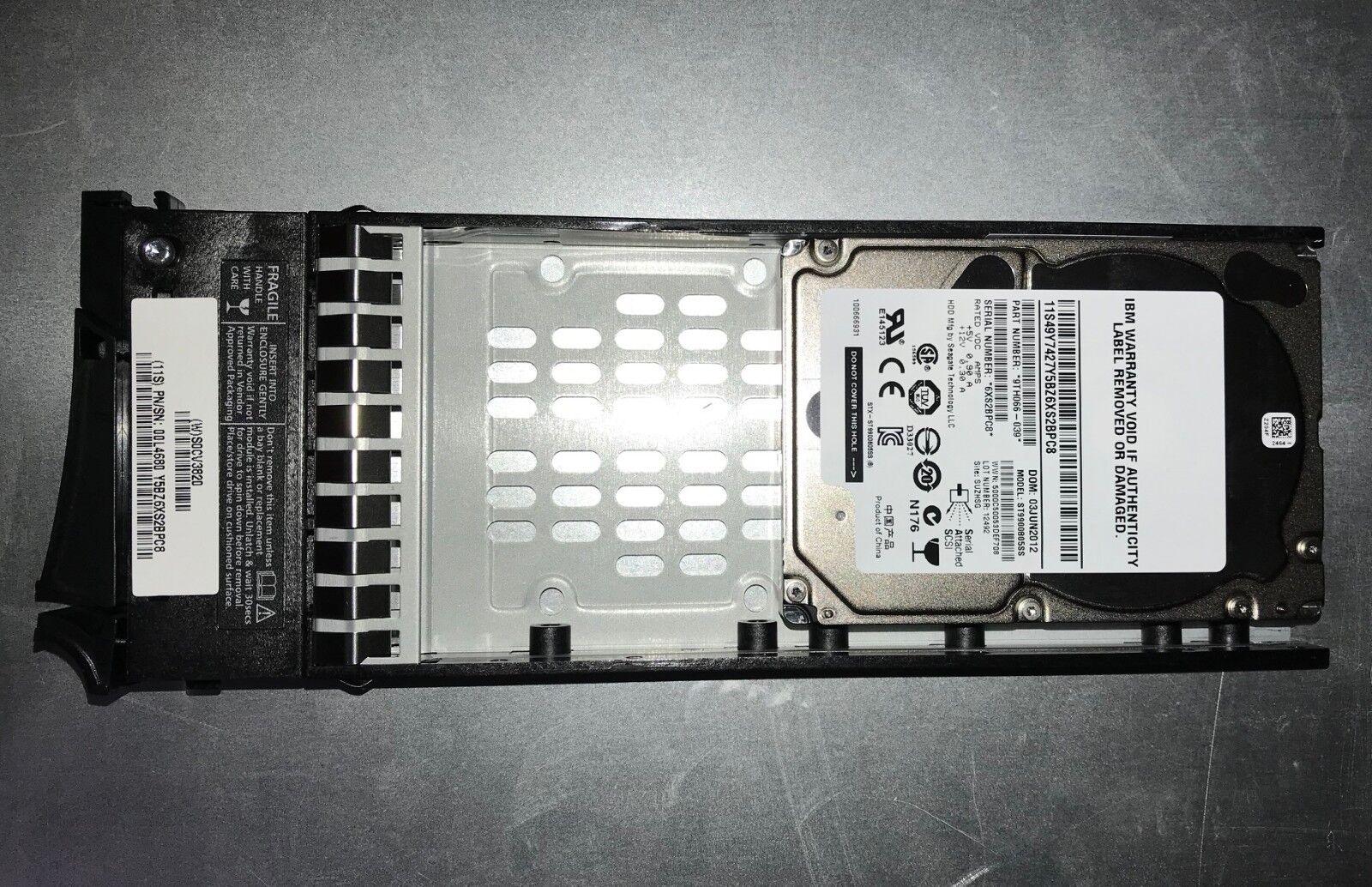 """00L4680 2076-3509 IBM 900Gb 10K SAS 6Gb 2.5/"""" Hard Drive Storwize V7000 00L4568"""