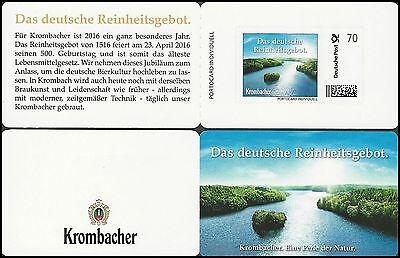 Krombacher Portocard – Das deutsche Reinheitsgebot – 70 Cent