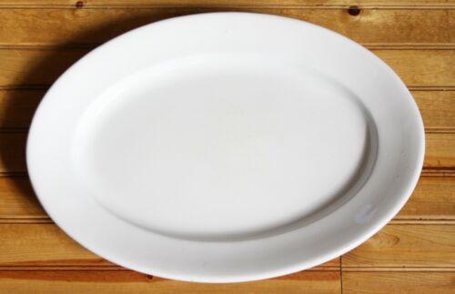 Burgess Burslem Ironstone Large oval platter 15 x 21 inches