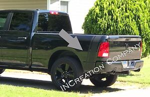 Truck vinyl decal racing stripes Dodge Ram rear bed both sides Hemi Mopar Rebel