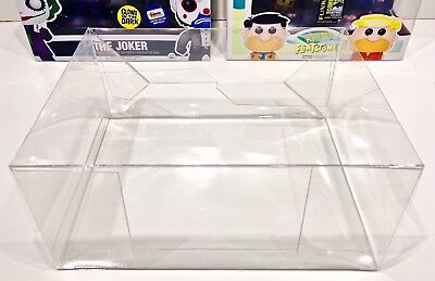 1 Box Protector For Various Funko Pop  2 Packs    Please Read Description  Cases