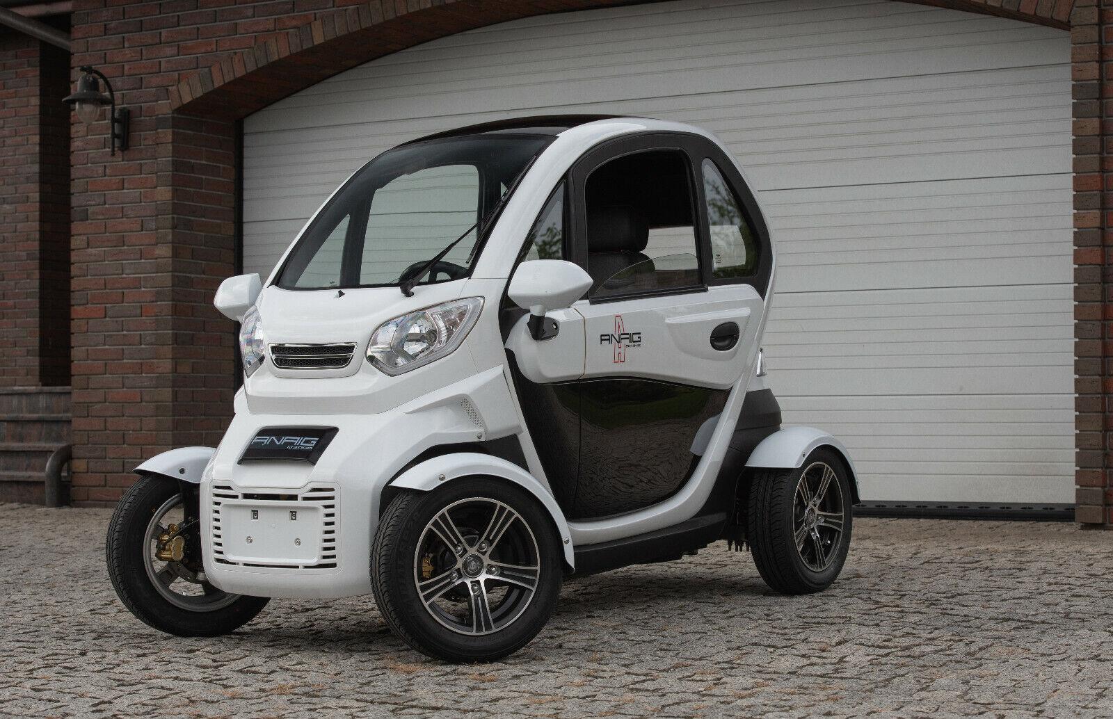 E-Auto,Kabinenroller,Mopedauto,Elektrokleinwagen, ANAIG 3000 Watt