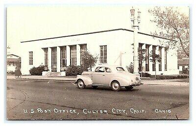 Vintage Postcard RPPC U.S. Post Office Culver City California (Culver City 12)