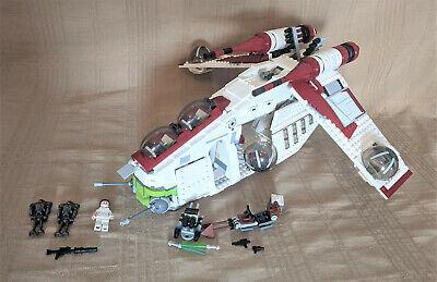 Lego 75021 Star Wars Republic Gunship 98% Complete No Manual or Box