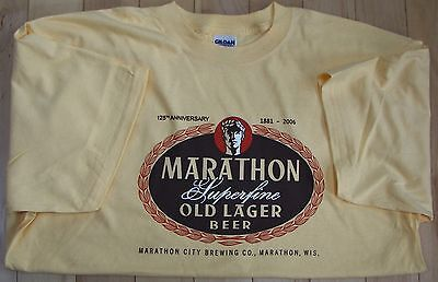 Marathon City Brewery, Marathon, Wisconsin t-shirt, Large, XL or XXL t-shirt