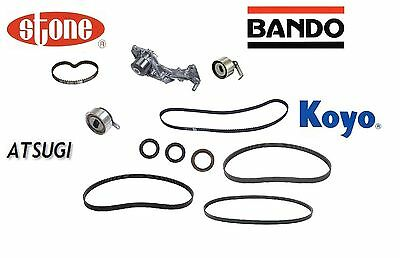 All Japan oem Timing Kit Belts Water Pump Pulleys For Acura RL 1996 to 2004 NEW