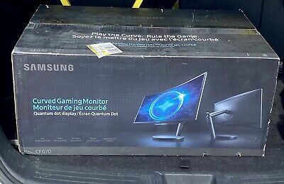"Samsung 27"" Widescreen Curved Gaming LED Monitor (LC27FG70FQNXZA Black)"