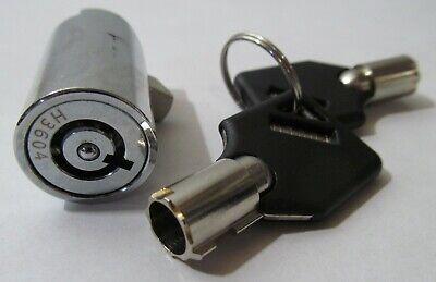 New Vending Machine T-handle Plug Lock With 2 Keys 1-12 X 34 Universal